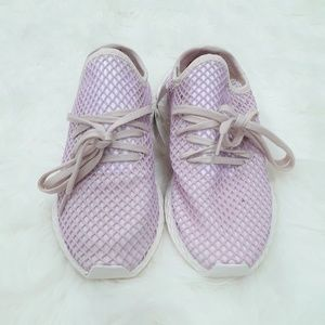 new style 63e81 4f826 adidas Shoes - Adidas Originals Deerupt Runner Lilac Sneakers 8